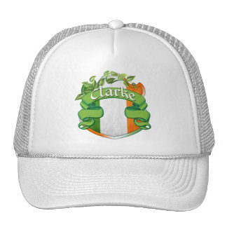 Clarke Irish Shield Mesh Hat