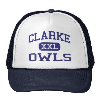 Clarke Owls Middle School Athens Georgia Trucker Hats