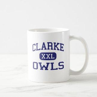 Clarke Owls Middle School Athens Georgia Coffee Mug