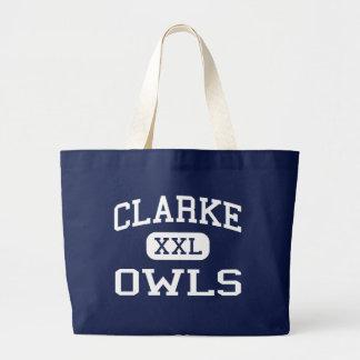 Clarke Owls Middle School Athens Georgia Tote Bag