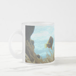 Clark's Anemonefish Frosted Glass Coffee Mug