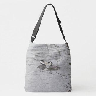 Clarks Grebe Birds Lake Wildlife Tote Bag