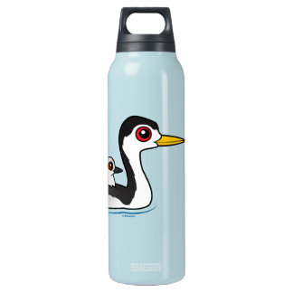 Clark's Grebe with chick SIGG Thermo 0.5L Insulated Bottle
