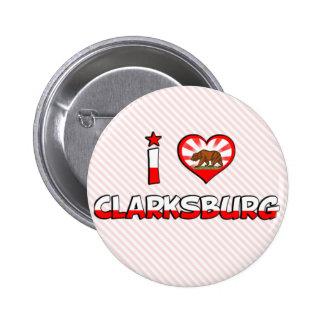 Clarksburg, CA Pinback Buttons