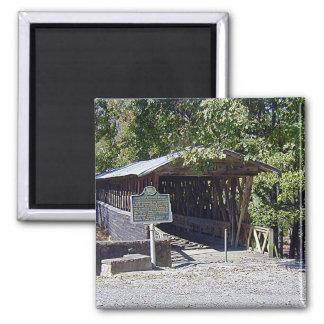 Clarkson–Legg Covered Bridge Square Magnet