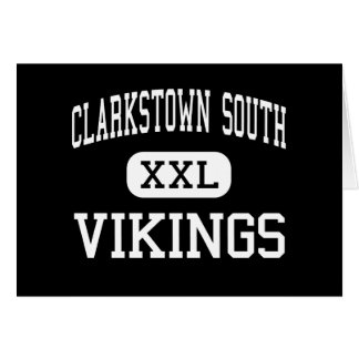 Clarkstown South - Vikings - High - West Nyack Greeting Card