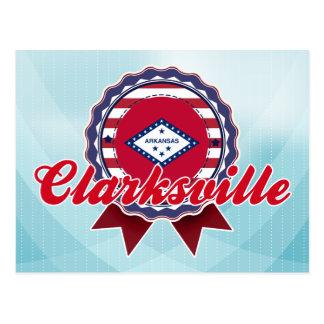 Clarksville, AR Tarjeta Postal