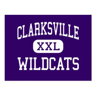 Clarksville - gatos monteses - alto - Clarksville Postales