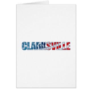 Clarksville Tarjeta De Felicitación