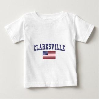 Clarksville US Flag Baby T-Shirt