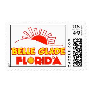 Claro de la belleza, la Florida Sello