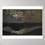 Claro de luna, 1894 póster