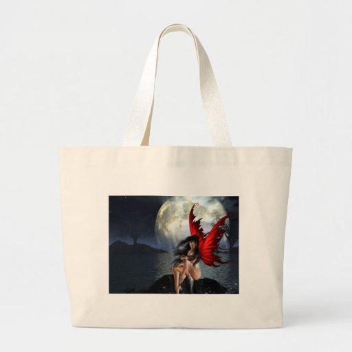Claro de luna bolsa lienzo