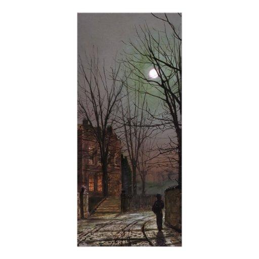 Claro de luna de Juan Atkinson Grimshaw- Plantillas De Lonas