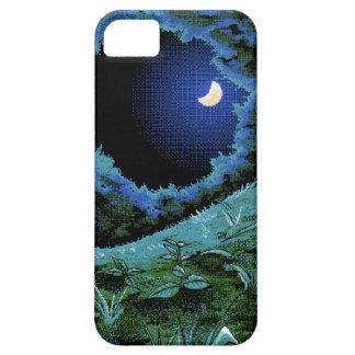 Claro de luna del pixel de 8 pedazos iPhone 5 Case-Mate carcasas