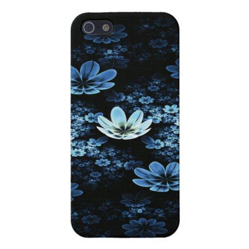 Claro de luna Lillies iPhone 5 Carcasas