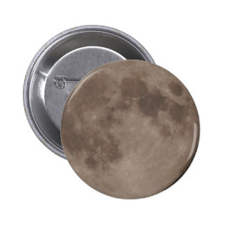 Claro de luna lunar por satélite de la luna pin redondo 5 cm
