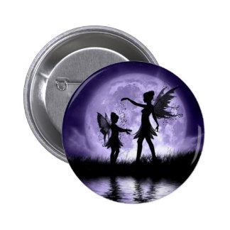 Claro de luna Sihouettes Pin Redondo 5 Cm