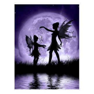 Claro de luna Sihouettes Postales