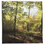 Claro del bosque servilletas imprimidas