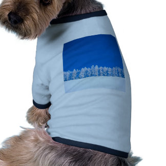 Claro del invierno camiseta de perrito