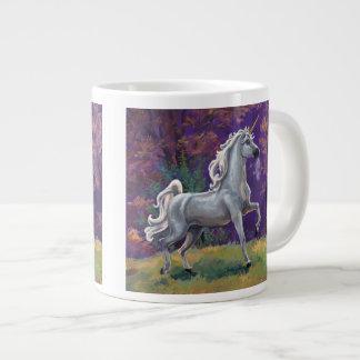 Claro del unicornio taza grande