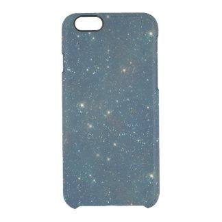 Claro transparente de medianoche estrellado del funda clear para iPhone 6/6S