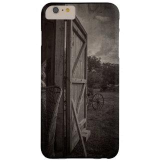 Claros de la lluvia - sepia funda para iPhone 6 plus barely there