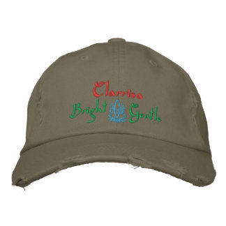 Clarrisa Name With English Meaning Olive Embroidered Baseball Caps