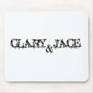 Clary and Jace Mouse Pad