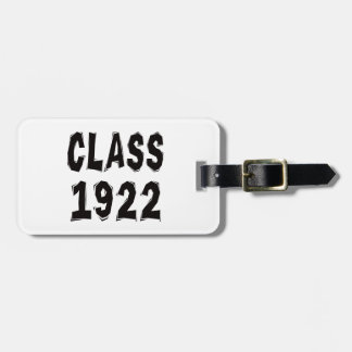 Clase 1922