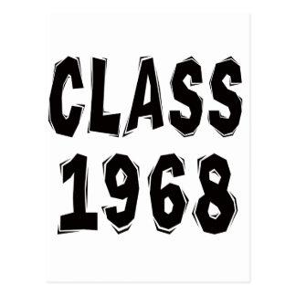 Clase 1968 postal