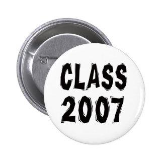 Clase 2007 pin