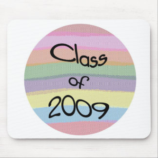 Clase 2009 de la torsión en colores pastel Mousepa Tapetes De Ratón
