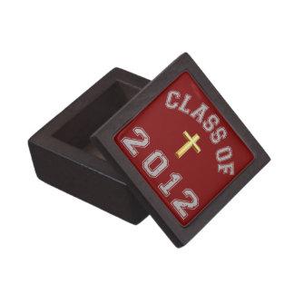 Clase 2012 de la cruz - gris 2 cajas de joyas de calidad