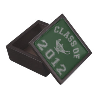 Clase 2012 de RN - gris 2 Cajas De Joyas De Calidad