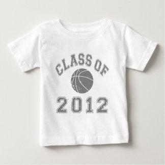 Clase 2012 del baloncesto - gris polera