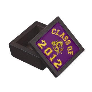 Clase 2012 del dragón - oro cajas de regalo de calidad