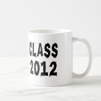 Clase 2012 tazas de café