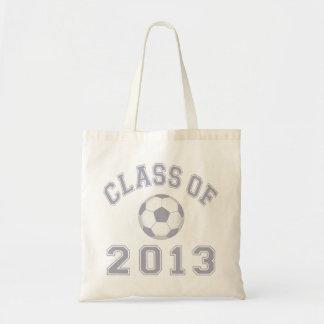Clase 2013 del fútbol - gris 2 bolsas de mano