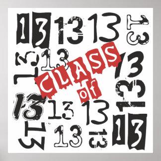Clase 2013 del mosaico - 2013 mayor impresiones