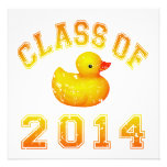 Clase 2014 del caucho Duckie - naranja Comunicados