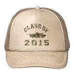 Clase 2015 de la escuela militar - Camo 2 Gorros
