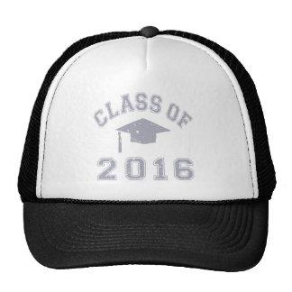 Clase 2016 de la graduación - gris gorras de camionero