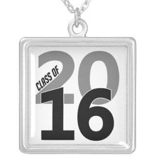 Clase 2016 del collar, personalizable