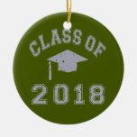 Clase 2018 de la graduación - gris ornamente de reyes
