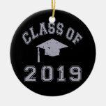 Clase 2019 de la graduación - gris ornamento para reyes magos
