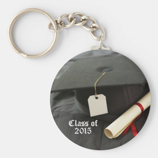 Clase adaptable de llavero de la graduación