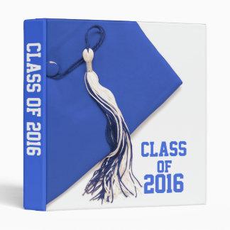 """Clase azul de la graduación 2016 1"""" álbum de foto carpeta 1"""""""