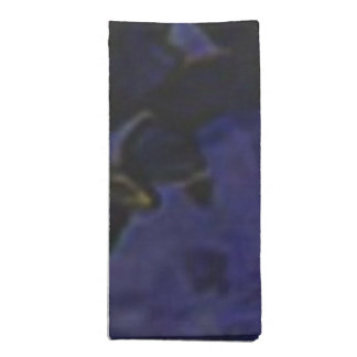 Clase azul servilleta imprimida